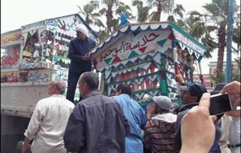 """حملة لرفع إشغالات جامع """"عمرو"""" ومجمع الأديان بمصر القديمة"""
