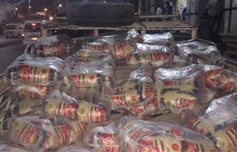 مباحث التموين بأسوان: ضبط 4 آلاف طن أرز مدعم قبل بيعه في السوق السوداء