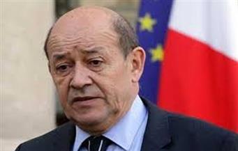 وزير الخارجية الفرنسي: سننسق مع الجزائر لإرساء وقف دائم لإطلاق النار في ليبيا