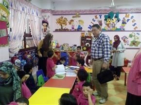 """""""صحة الدقهلية"""" تتفقد مدارس الفردوس وناصر بالمنصورة للتوعية حول الأمراض المعدية"""
