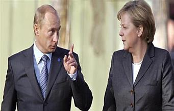 ميركل تلتقي بوتين اليوم لبحث الاستعدادات لقمة مجموعة العشرين
