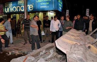 تحرير 19 محضر إشغال وإزالة 19 تندة في حملة بحى المطرية