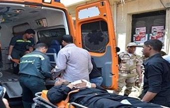 مجهولون يلقون حجرًا علي قطار ويصيبون أحد الركاب بنزيف حاد بقنا