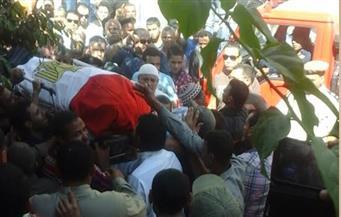 بالصور.. البحيرة تودع 3 من شهداء حادث سيناء في جنازات شعبية ورسمية