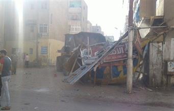 استمرار حملات النظافة بمساكن شطا بدمياط