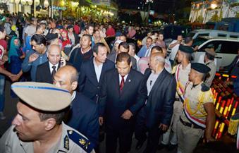 """بالصور .. الغربية تحتفل بالليلة الختامية لمولد """"السيد البدوي"""" بمشاركة المحافظ"""