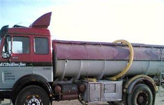 انقلاب سيارة نقل محملة بالسولار يتسبب في إيقاف 4 محطات مياه شرب بكفرالشيخ