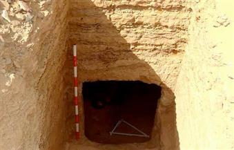 بالصور.. الكشف عن مقبرتين منحوتتين في الصخر بداخلهما بقايا مومياوات بغرب أسوان