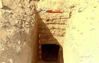 """بالصور.. وكيل آثار أسوان يُعلن اكتشاف مقبرتين أثريتين بمنطقة """"أغاخان"""""""
