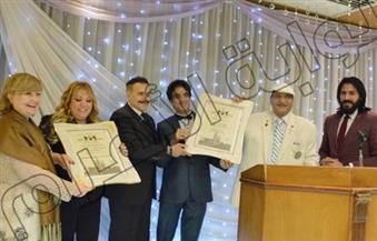 بالصور.. أكاديمية بليتوانيا تمنح الدكتوراه الفخرية لقائد بحرب أكتوبر وإعلامية لبنانية