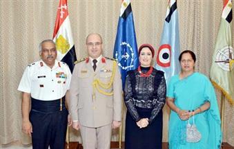 """""""ملحق الدفاع"""" بالهند في احتفالات نصر أكتوبر: القوات المسلحة ستبقى الدرع الحامي للوطن"""