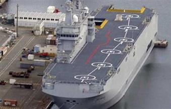 """بمشاركة """"ميسترال""""..القوات البحرية المصرية والفرنسية تنفذان تدريبا بحريا عابرا"""