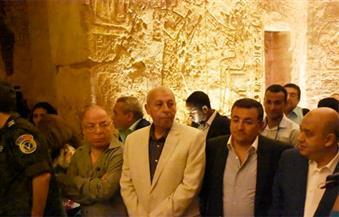 بالصور.. خلال مشاهدته تعامد الشمس بأبي سمبل.. وزير الآثار: ظاهرة فريدة من نوعها عمرها 33 قرناً