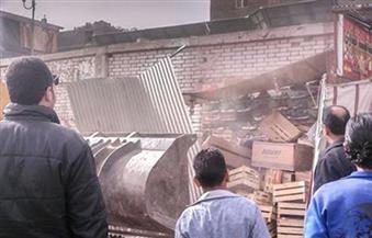حملات لرفع إشغالات الشوارع في أحياء المنطقة الغربية بالقاهرة