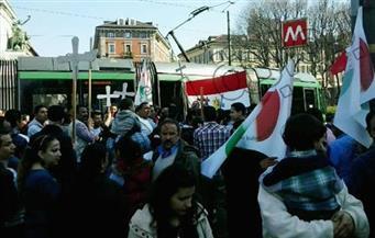 """الجاليات المصرية في أوروبا ترفع شعار """"دعم مصر"""".. وتحذر من دعوات الإخوان لنشر الفوضى"""