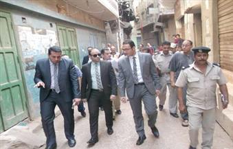 بالصور.. معاينة نيابة الإدارية تكشف غرق قرية محلة أبو علي بمياه الصرف الصحي واختلاطها بمياه الشرب