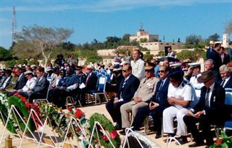 ممثلو 50 دولة يُشاركون في احتفالات الذكرى الـ 74 للحرب العالمية الثانية بالعلمين