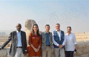 بالصور.. فيليبو جراندي: سأضع صور زيارتي للأهرامات على تويتر لتشجيع السائحين على زيارتها