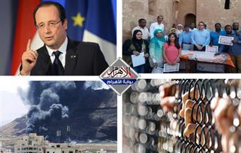 انفجارات اليمن.. الهروب الجماعي..  الحراك المسلح.. تكريم أثريين  بنشرة السادسة