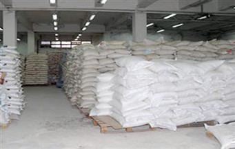 ضبط 12 طن سكر و1788 كيلو أرز و1250 زجاجة زيت بأسيوط