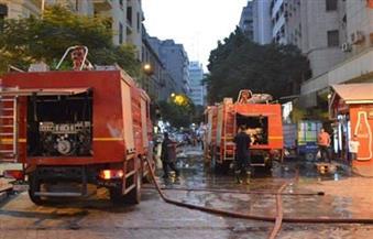 الحماية المدنية تسيطر على حريق بشقة بمساكن الكيلو 26 فى الإسكندرية