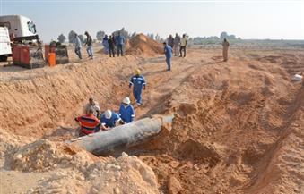 """""""جاسكو"""" تكشف تفاصيل 36 ساعة صعبة لإصلاح كسر خط الغاز بالطريق الصحراوي الغربي بقنا"""
