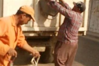 حملة لإزالة الأتربة والمخلفات بنفق القناطر الخيرية والطريق السريع بالقليوبية