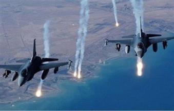 طائرات التحالف العربي تقصف معسكر الحفا في صنعاء