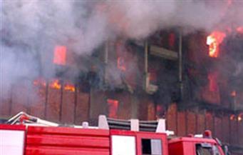 الحماية المدنية تسيطر على حريق شب في شقة بقرية البصارطة بدمياط