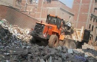 حملة نظافة خلف مجمع المحاكم بحي بولاق أبو العلا