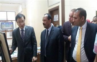 بالصور.. السفير الكوري يفتتح   قسم اللغة الكورية بجامعة أسوان