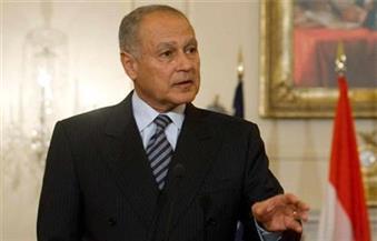 أبو الغيط  يلتقي المبعوثين العربي والأممي لليبيا