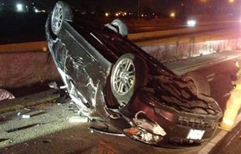 مصرع شخص وإصابة 5 آخرين فى حادث انقلاب سيارة بجبل الزيت
