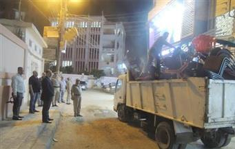 رفع 309 حالات إشغال وإزالة 15 حاجزا خرسانيا في مدن الغربية