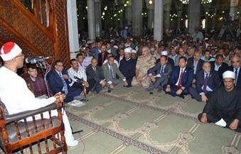 """بالجهود الذاتية.. محافظ الغربية يفتتح مسجدًا مساحته 750 مترًا بتكلفة 3 ملايين جنيه فى """"عزبة الضبعة"""""""