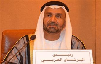 رئيس البرلمان العربي ينتقد  تصريحات الخارجية الإيرانية بشأن الجزر الإماراتية المحتلة