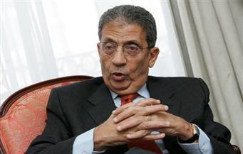 """عمرو موسى: """"صباح الأحمد"""" كان حكيما في وسط عربي تهدده العواصف"""