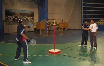 منتخبات البطولة العربية لكرة السرعة تبدأ التدريب بنادي الصيد
