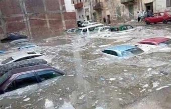 """نرصد بالصور مأساة """"رأس غارب"""" مدينة البترول التى دمرتها السيول"""