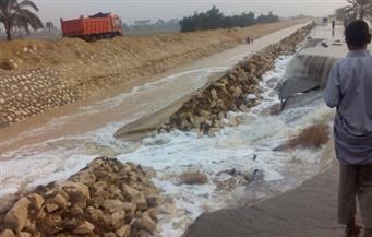 بالصور.. عمليات وزارة الري: سيول الوادي الجديد عرضها 300 متر.. وارتفاعها في البحر الأحمر بلغ 3 أمتار