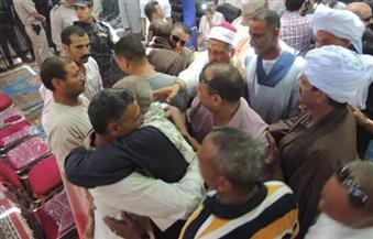 """إنهاء خصومة ثأرية بين عائلتى """"عبدالرحيم"""" و""""محمود"""" بمركز البلينا  فى سوهاج"""