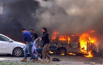 مصرع شخصين وإصابة 9 آخرين جراء تفجير انتحارى فى محطة حافلات بحماة