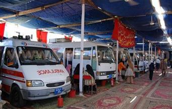 """""""تعليم الغربية"""" تنظم قافلة طبية في قرية """"مشال"""" ببسيون بالاشتراك مع جامعة طنطا"""