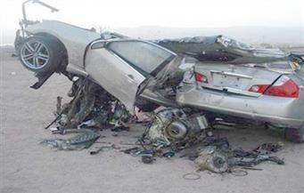 إصابة 17 عاملًا فى حادث تصادم بالطريق الصحراوي في الإسكندرية