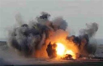 انفجارات تهز قاعدة سبايكر في محافظة صلاح الدين العراقية