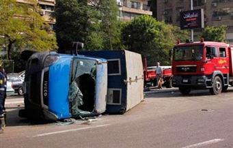 """مصرع وإصابة 11 شخصًا في حادث تصادم لوري شرطة بسيارة ميكروباص علي طريق """"الإسكندرية الصحراوي"""""""