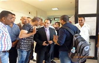 رئيس جامعة بورسعيد يتفقد سير العملية التعليمية بكلية العلوم