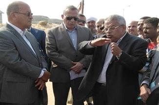 بالصور.. محافظ الجيزة: منطقة صناعية للرخام ومواد البناء بأطفيح