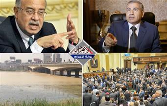 """""""دعم مصر"""" يرفض سحب الثقة.. عكارة النيل.. غضب وزير التموين.. انفلات الدولار بنشرة السادسة"""