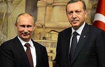 """بوتين وأردوغان يتفقان على ضرورة حل الصراع الفلسطيني الإسرائيلي  وفقًا لـ""""القانون الدولي"""""""